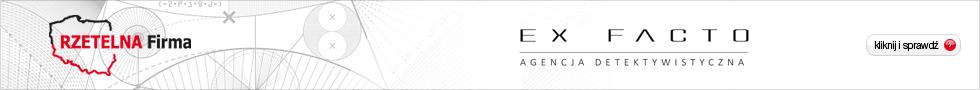 Agencja Detektywistyczna Ex Facto - Rzetelna Firma