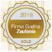 Medal Firma Godna Zaufania GOLD 2018
